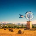 Windmühlen auf Mallorca