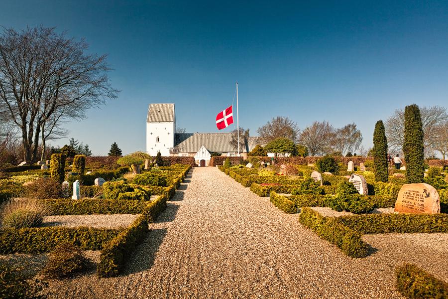 Henne Kirkegård (Jütland / Dänemark)