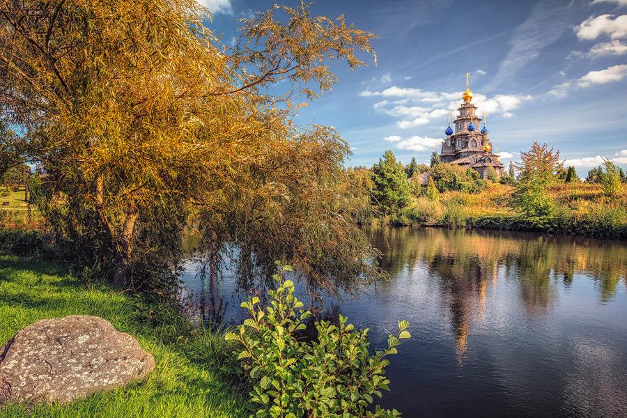 Russisch Orthodoxe Holzkirche (Gifhorn)