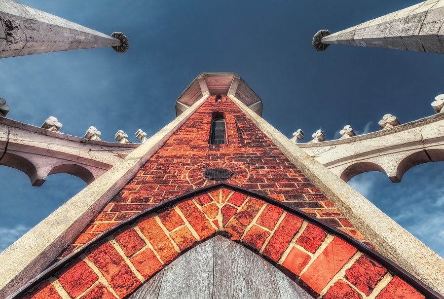 Bibelturm St. Petri Kirche (Wörlitzer Park)
