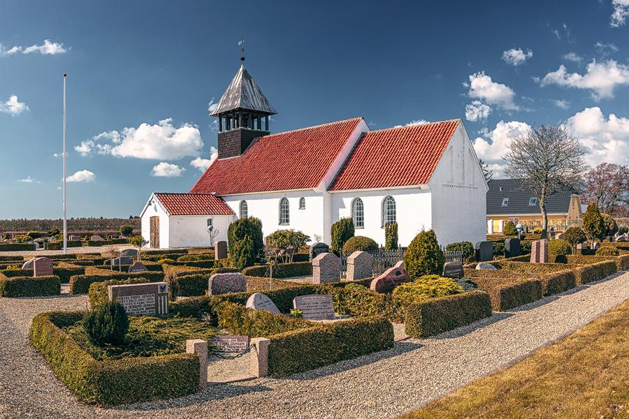 Ho Kirke (Jütland / Dänemark)