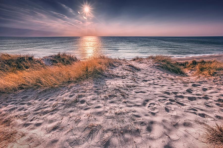 Dänischer Sonnenuntergang (Jütland)