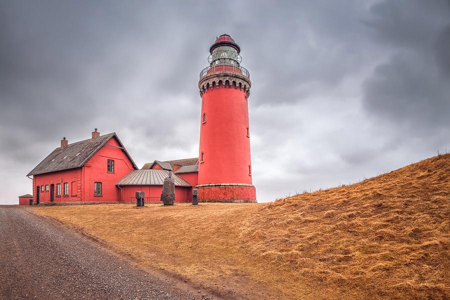 Leuchtturm Bovbjerg Fyr (Dänemark)