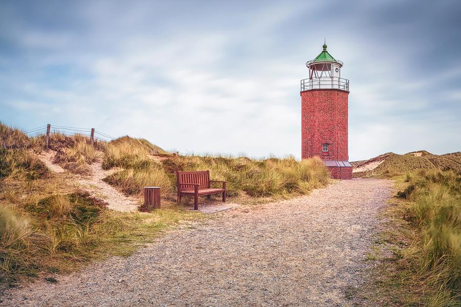 "Quermarkenfeuer ""Rotes Kliff"" (Kampen / Sylt)"