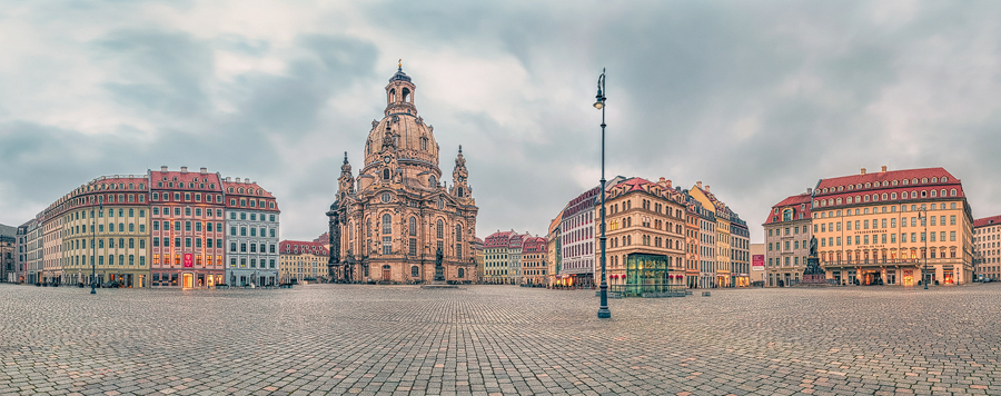 Frauenkirche Neumarkt Dresden (Sachsen)