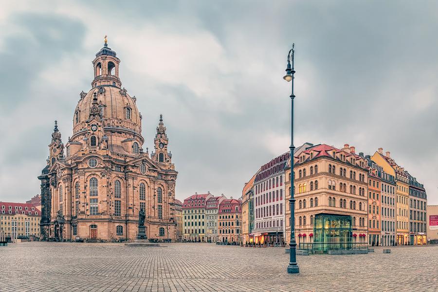 Frauenkirche am Neumarkt (Dresden / Sachsen)