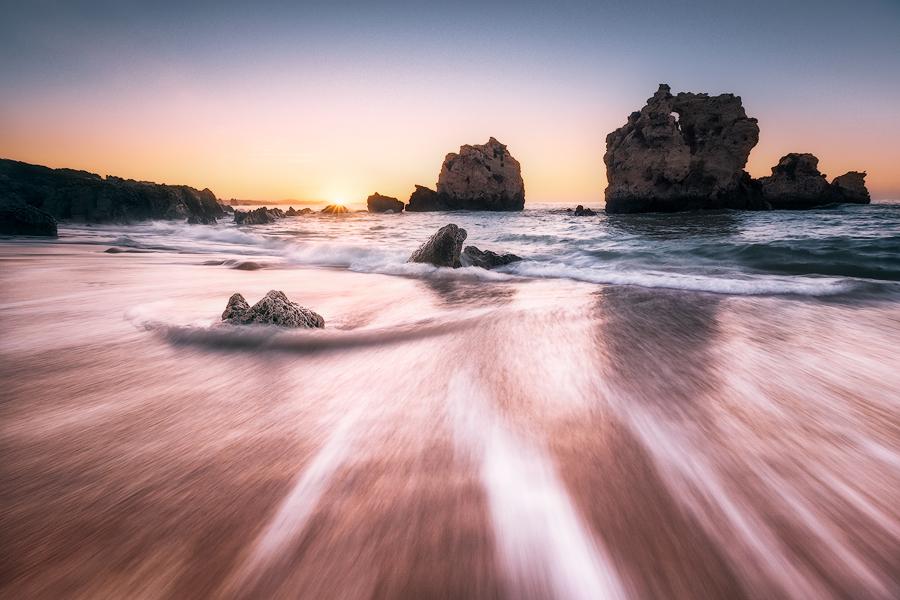 Zurück ins Meer (Praia de Arrifes / Algarve)