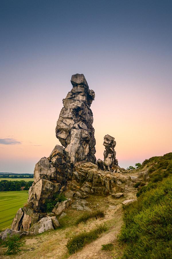Sagenhafte Teufelsmauer (Weddersleben / Harz)