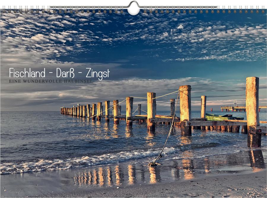 """Kalender """"Fischland-Darß-Zingst"""" 2017"""