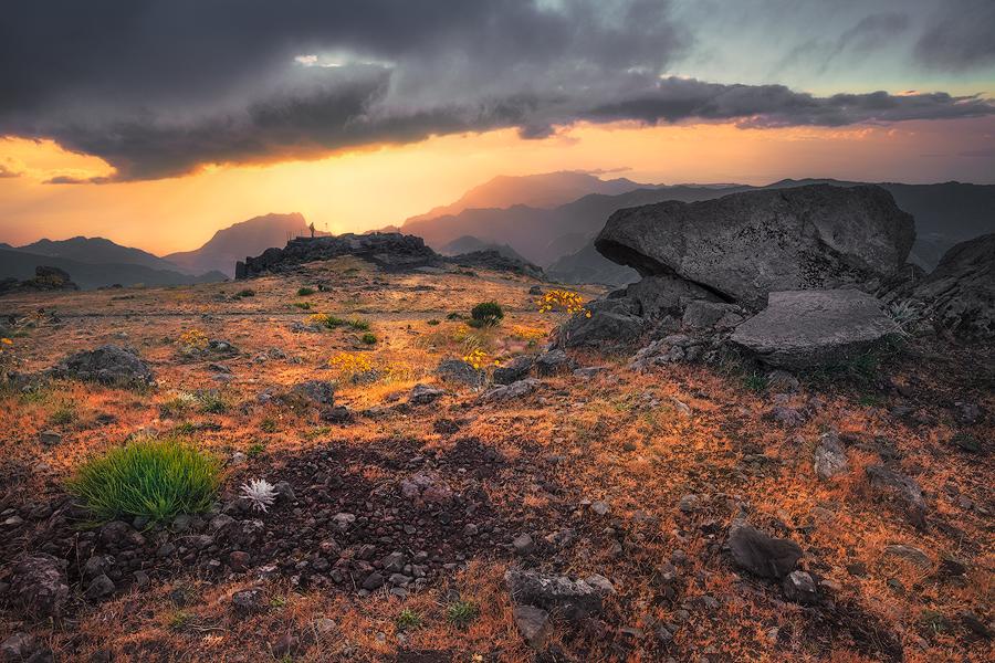 Wenn der Himmel sich öffnet (Pico do Arieiro)