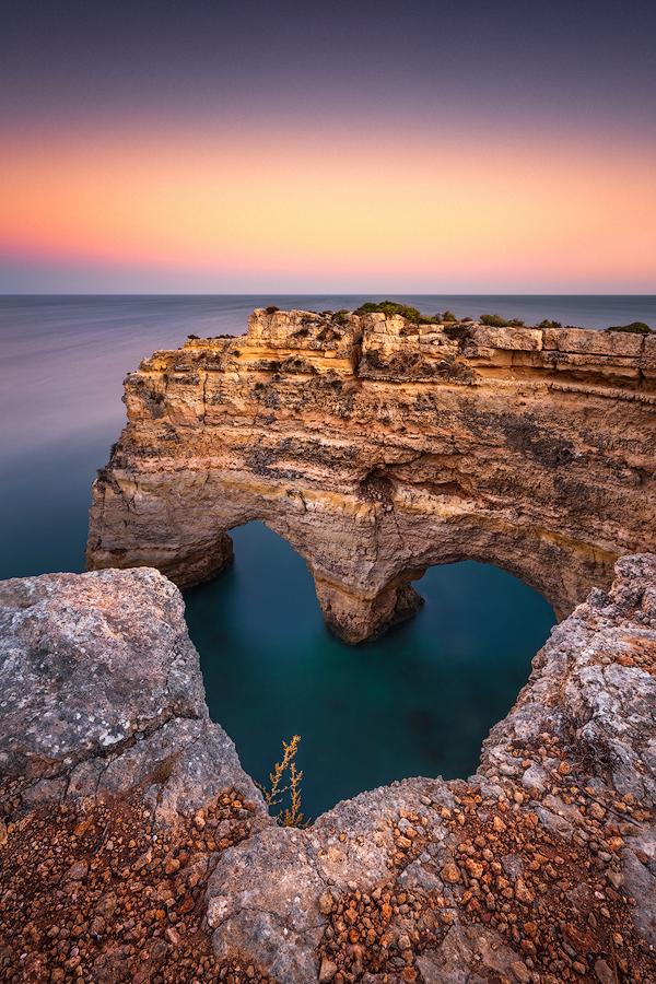 Herz der Algarve (Praia da Marinha)
