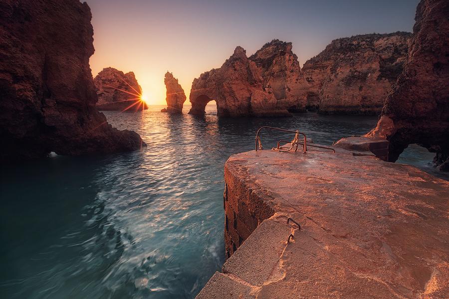 Am Kap Bizar (Ponta da Piedade / Algarve)