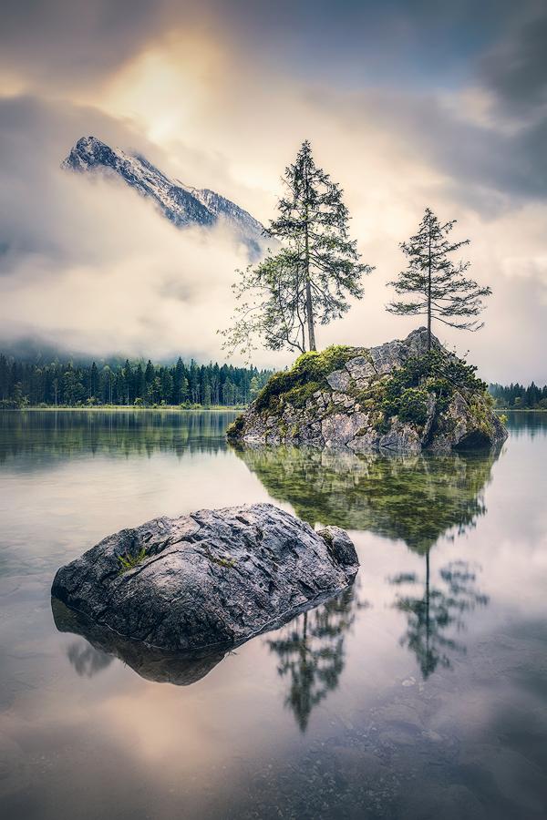Stille am Hintersee (Berchtesgadener Land)