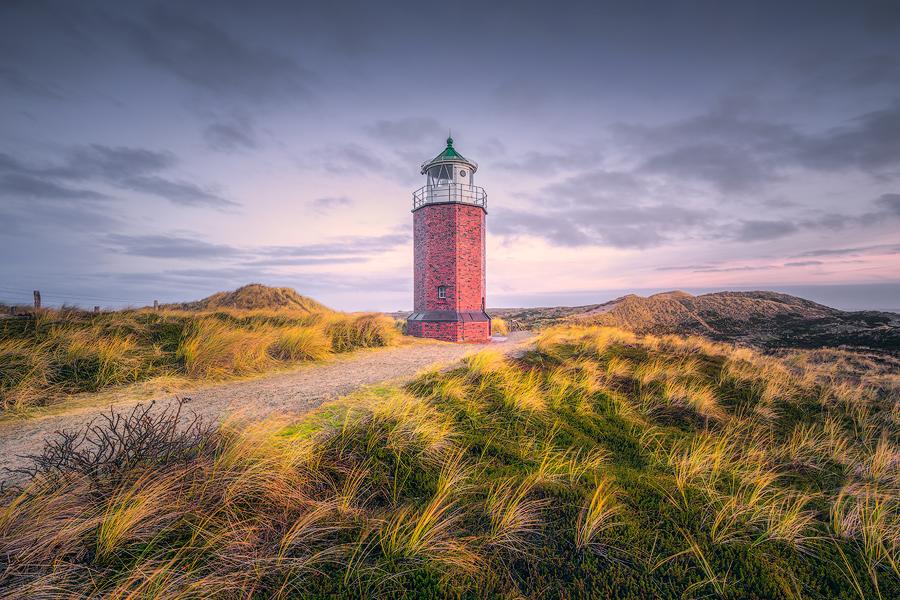 Achteckiger Leuchtturm (Rotes Kliff)