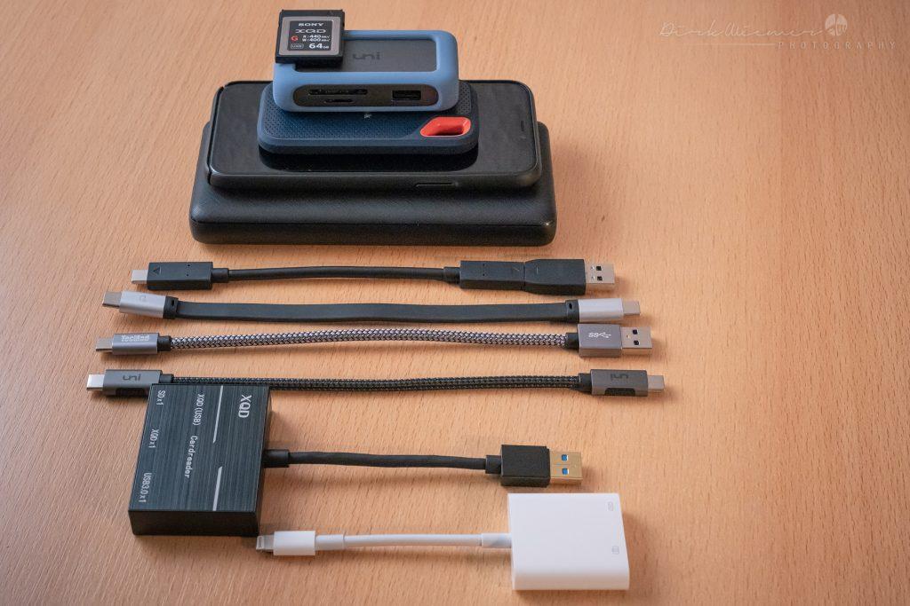 Fotos ohne Notebook sichern: Diese Komponenten werden je nach Anwendungsfall benötigt